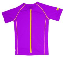 Awesomely stylish purple Girls' skinz with #UPF 50+ for girls that love the outdoors and the ocean! #beach #kids #Newtz