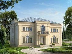 DOM.PL™ - Projekt domu MT Amadeusz CE - DOM ST3-90 - gotowy projekt domu