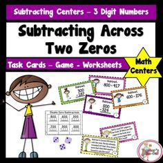 Worksheets and Zero on Pinterest