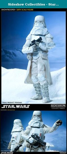 Sideshow Collectibles - Star Wars Action Figure 1/6 Snowtrooper 30 cm. Sideshow Collectibles is proud to present the newest entry in the Militaries of Star Wars Sixth Scale figure collection, the Snowtrooper. Outfitted to withstand the arctic climate of Hoth, the Snowtrooper Sixth Scale figure features detailed armor, accessories, and weaponry. The Snowtrooper Sixth Scale Figure features: - Fully Articulated Prometheus 1.1 body - Cold weather assault gear including: - Helmet - Face shield…