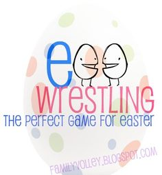 Great Easter Game- Perfect for families and friends. Our family plays every year. familyvolley.blogspot.com