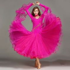 b1b1506aa Womens Latin Competition Dance Dress Modern Waltz Standard Tango Salsa  Ballroom #Unbranded Ballroom Dance,