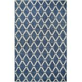 Found it at Wayfair - Retrograde Nova Sapphire/Ivory Area Rug
