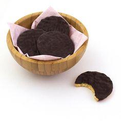 Empezamos el lunes con las galletas de chocolate LEV. Son el tentempié perfecto para tomar con un café sin añadir azúcares a tu dieta.