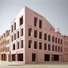 dugganmorrisarc (@dugganmorrisarc) | Twitter Brick Architecture, Classical Architecture, Architecture Details, Architecture Models, Facade Design, Roof Design, Duggan Morris, Base Building, Roof Extension