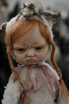 Sveta Votina Chumachenco.  Ha! This face is probably how I look when I realize I really do have to get up in the morning!