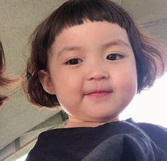 Cute Asian Babies, Korean Babies, Asian Kids, Cute Babies, Baby Kids, Black Baby Girls, Cute Little Girls, Cute Kids, Cute Baby Meme