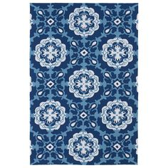This Luau rug is luxurious and perfectly durable for indoor or outdoor use. Tightly woven polypropylene yarn and a non-skid backing combine with UV protection and mildew resistance to make this rug a wonderful addition to your home decor.