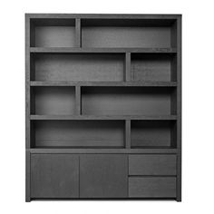 Living Room Storage, Home Living Room, Black Interior Design, Muebles Living, Tv Unit Design, Bookshelf Design, Home Office Space, Mendoza, Living Room Inspiration