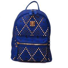 2013 NEW Sytle Designer MCM Studded Backpack_1225
