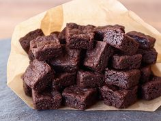 bite size brownies