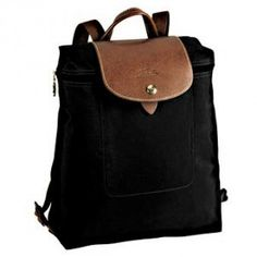 LONGCHAMP LE PLIAGE BACKPACK. Fits my computer, some files and a notebook. Perfect size.