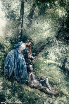 La Belle Dame sans Merci by Viona Art