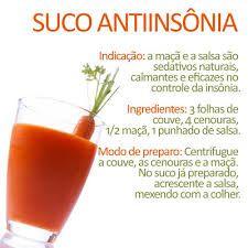 suco antiinsônia