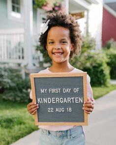 Items similar to PRE-K Chalkboard Signs - First Day & Last Day signs included) on Etsy 1st Day Of School Pictures, Last Day Of School, School Photos, Preschool First Day, Kindergarten First Day, Letterboard Signs, Preschool Pictures, Foto Transfer, School Chalkboard