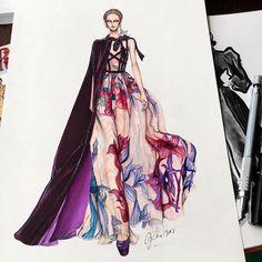#fashiondesign #fashion #sketch #illustration #design