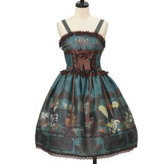 ♡ ALICE and the PIRATES ♡ CHOcOlate addiction wth your SweEt MEmories pattern JSK http://www.wunderwelt.jp/products/detail9009.html ☆ ·.. · ° ☆ How to buy ☆ ·.. · ° ☆ http://www.wunderwelt.jp/user_data/shoppingguide-eng ☆ ·.. · ☆ Japanese Vintage Lolita clothing shop Wunderwelt ☆ ·.. · ☆ #lolitafashion