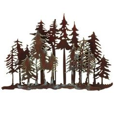 """Check out our web site for more info on """"metal tree wall art decor"""". It is actually a great place to learn more. Metal Tree Wall Art, Leaf Wall Art, Metal Wall Decor, Metal Art, Painted Metal, Hand Painted, Tree Wall Decor, Wall Art Decor, Christmas Tea Light Holder"""