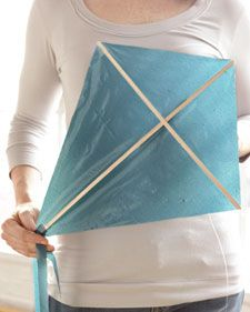 Recycled Craft: Plastic Bag Kite | Whole Living