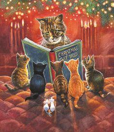 Cat Tales (550 Piece Puzzle by SunsOut)