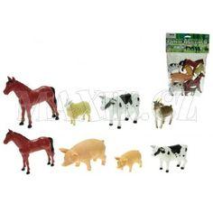 Zvířátka farma 8-13cm 8ks