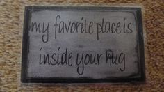 Laminated Wallet Size Inspirational Quote/Message Keepsake Cards -  Inside Your Hug on Etsy, £2.50