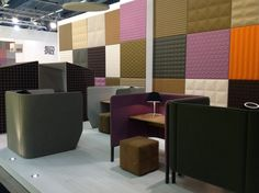 greetings from Stockholm Furniture Fair, booth A35:16   BuzziSpace