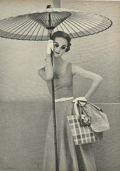 Charm 1954 There is nothing like 1950s fashion...truely iconic