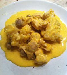 Blanc de poulet choux fleur sauce carottes (thermomix) - Les délices de Cintit