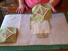 How to make 3D Faux Cathedral Window Quilt Blocks