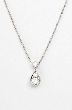 f2c3f3eeb8612 Kwiat  Sunburst  Diamond Teardrop Pendant Necklace available at