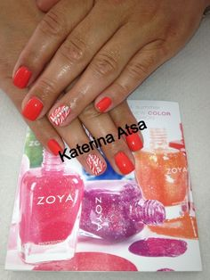 Nails  @zoya  Beauties   Μανικιούρ με προϊόντα Zoya