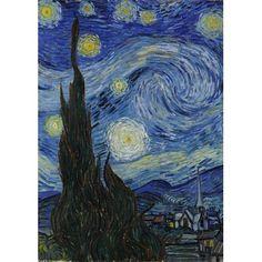 Van Gogh's Starry Night Garden flag