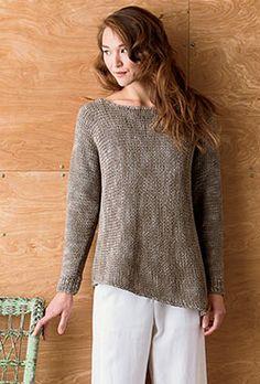Sloping Hem Boatneck - Knit.Wear Spring 2013 by Norah Gaughan