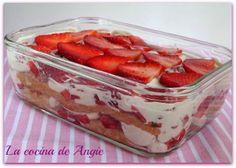 TIRAMISÚ DE FRESAS - La cocina de Angie