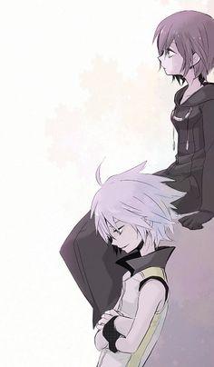 Tags: Anime, Kingdom Hearts, Riku, Organization XIII, Pixiv