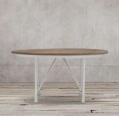 Flatiron Round Dining Table