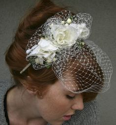 Etsy Spotlight: Be Something New Bridal Veils and Headpieces