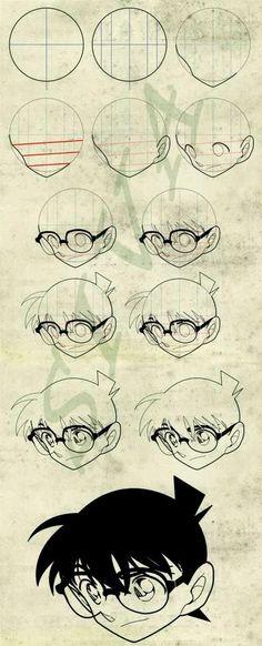 Cómo dibujar a Conan.