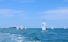 Méditerranée - Cap d'Agde - Fort Brescou - Voile - 470 © Laurent Uroz