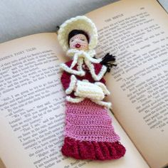 Looking for your next project? You're going to love Victorian caroler bookmark or decoration by designer LoisLeigh. - via @Craftsy