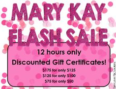Mary Kay Flash Sale flyer by Next Level MK Solutions