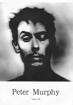 Peter Murphy c. 1992 by Rufus.Knight,