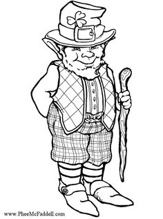 12 Printable St. Patrick\'s Day Coloring Pages for Kids: St ...