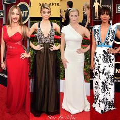 Red Carpet: Screen Actors Guild Awards! On the blog www.starinmoi.com #starinmoi