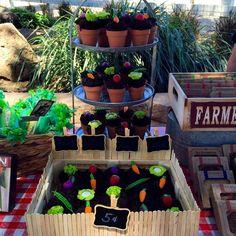 Farmers Market Birthday Party Ideas | Photo 3 of 45