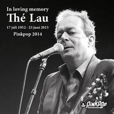 Thé Lau - In memoriam - Pinkpop 2014