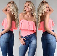 Blonde Hair, Jeans, Hot, Women, Style, Fashion, Swag, Moda, Yellow Hair