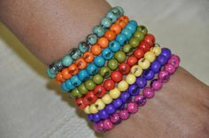 açai seed bracelets // made by Sonya Reimer - photo by Rosanna Parry