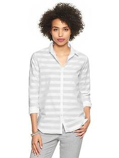 Horizontal-stripe shirt | Gap